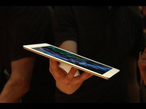 Apple iPad mini 3 with Touch ID fingerprint sensor - YouTube