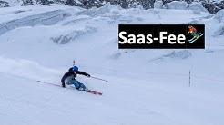 Saas-Fee: Skifahren auf 3600 Metern