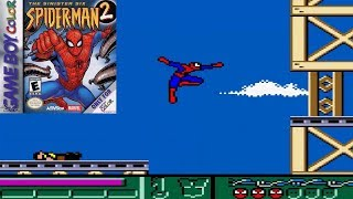 Spider-Man 2: The Sinister Six (GBC) - Longplay (Game Boy Color)