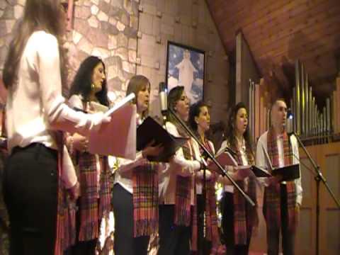 Our Lady of Peace Calgary Choir Christmas Recital 2012