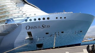 Самый большой круизный лайнер в мире Oasis of the Seas. Самый полный обзор корабля.