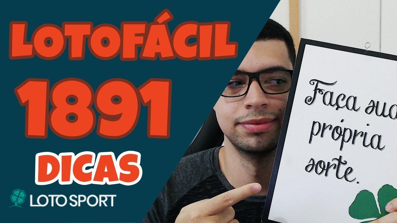 Lotofacil 1891 Dicas E Análises 14 Pontos Lotosport