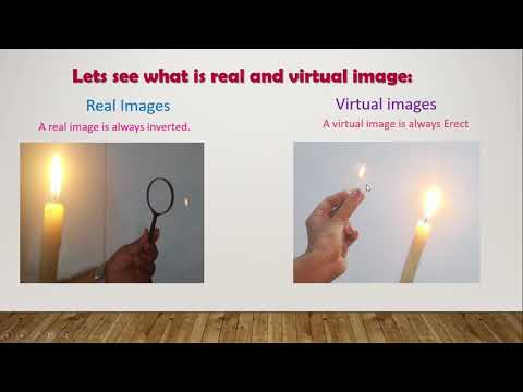 virtual and real image doovi ray diagram that shows real image formation by a concave mirror