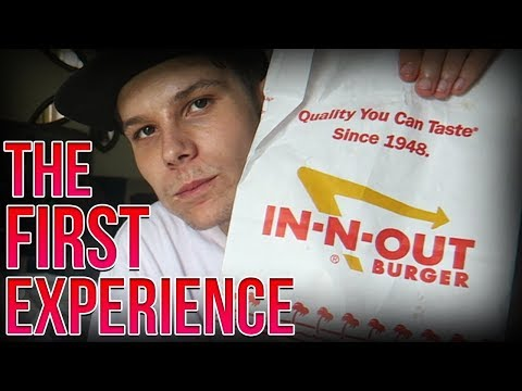 Trying IN-N-OUT Burger for The First Time!