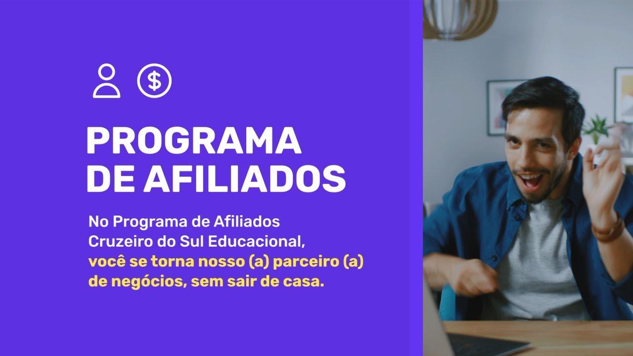 GANHE DINHEIRO COM A CRUZEIRO DO SUL EDUCACIONAL