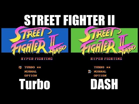 ダッシュ仕様 - STREET FIGHTER II Turbo for SFC/SNES
