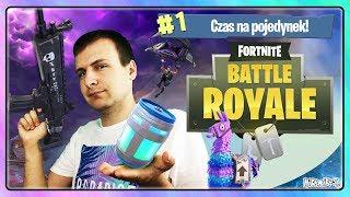 WOW! CZAS NA POJEDYNEK! - Fortnite Battle Royale #1