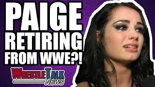 Paige RETIRING From WWE? | WrestleTalk News Jan. 2018