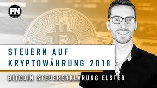 Steuern auf Bitcoin Ethereum Ripple usw | Kryptowährungen versteuern Tutorial Steuererklärung Elster