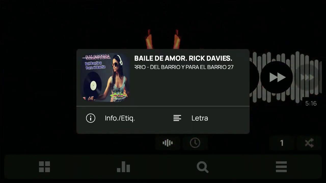 El Baile De Amor - Rick Daviles