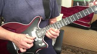 Bohemian Rhapsody - Queen - Guitar solo - (Brian May Guitars Special - BMG Special)