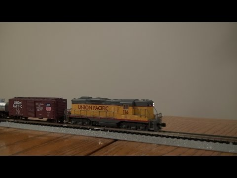 Bachmann N Scale Golden Spike DCC Set Review