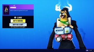 New *Gunner pet* Skin Fortnite Shop Today