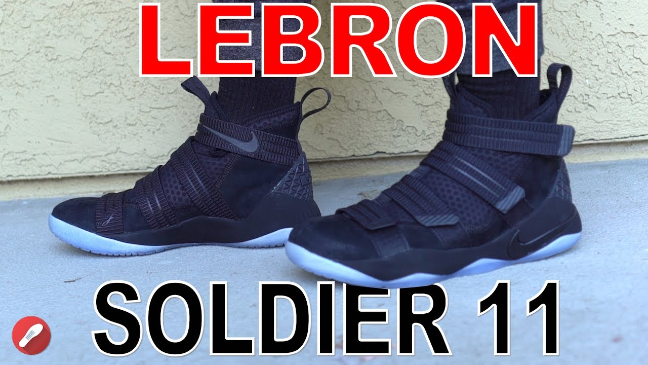 d0981d430bedf Nike Lebron Soldier 11 First Impressions! - YouTube