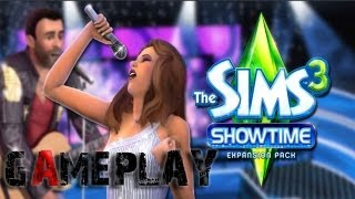 The Sims 3: Showtime Gameplay (PC/HD)