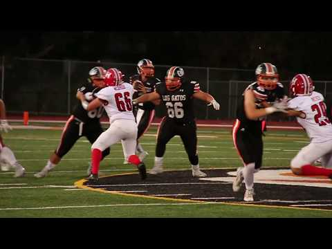 Los Gatos High School: First Home Football Game