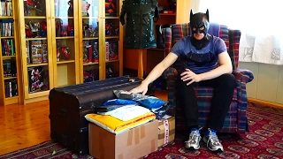 knightmare batman costume unboxing
