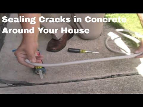 sealing cracks in concrete by your house mov youtube rh youtube com Electrical Wiring Diagrams For Dummies Home Electrical Wiring Diagrams