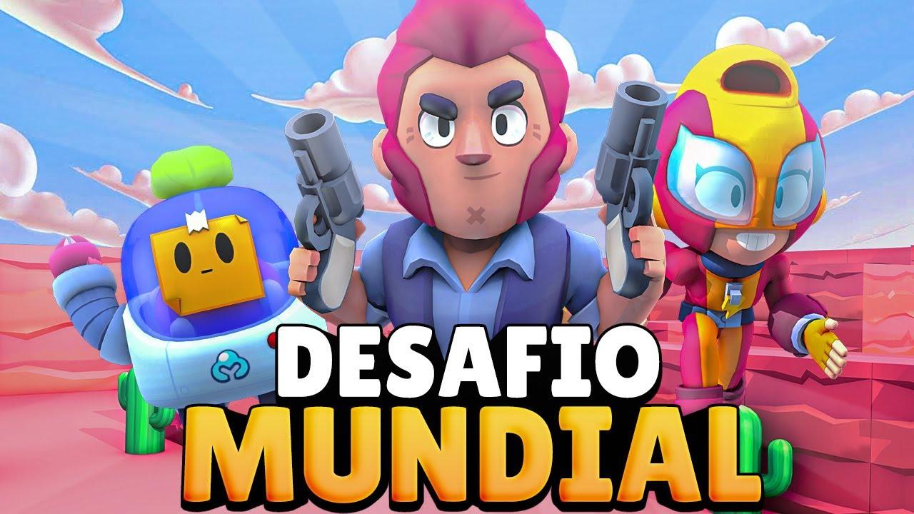 DESAFIO PARA EL MUNDIAL DE BRAWL STARS ¡¡CLASIFICADOS!!