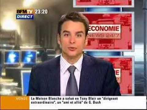 The Hottest News Anchor In The Universe Meet Paris S Own Julian Bugier Of The France 2 Network