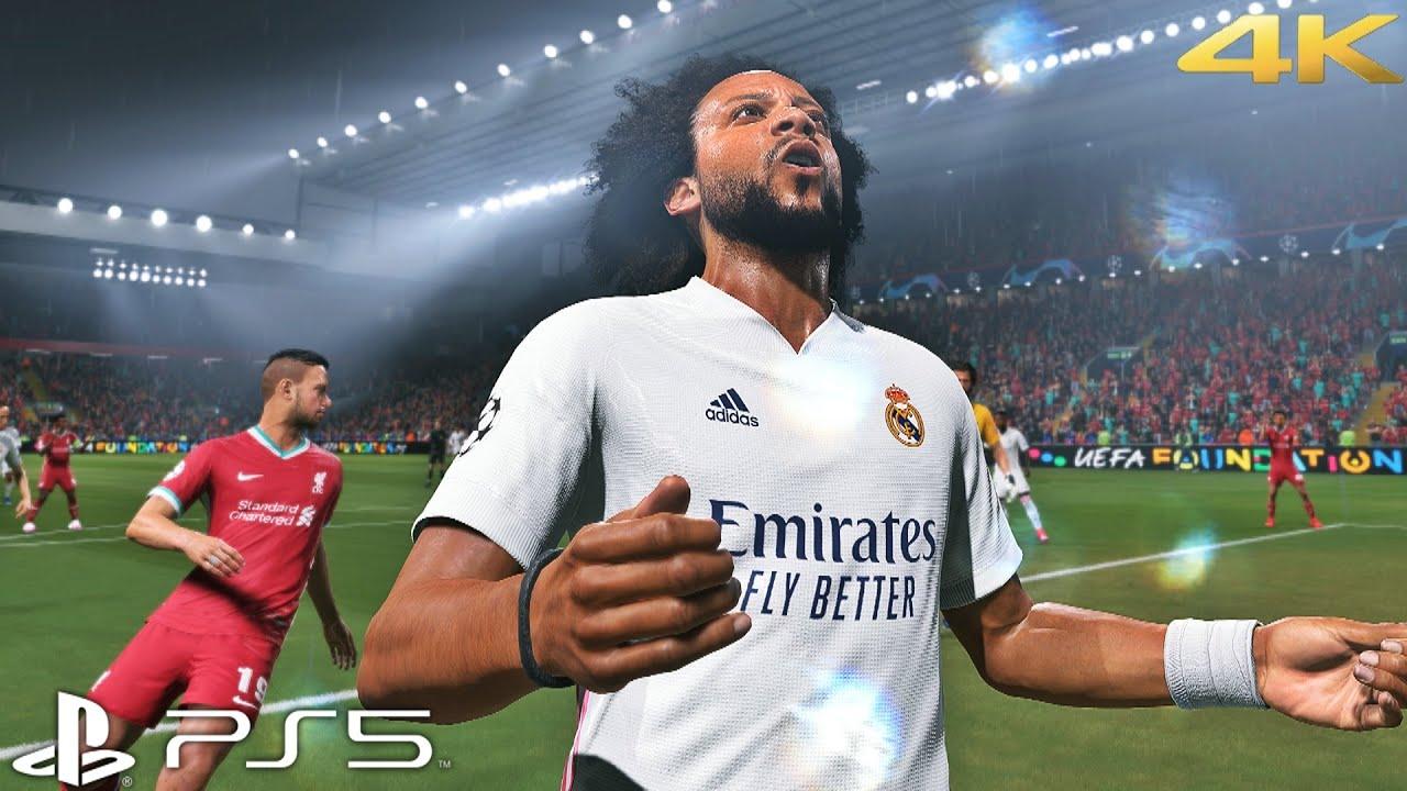 FIFA 21 - Real Madrid vs Liverpool | UEFA Champions League PS5™ (4K HDR)