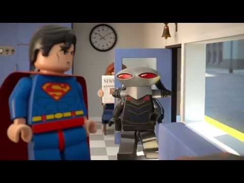 Superman at the Dry Cleaners - LEGO DC Comics Super Heroes - Mini Movie