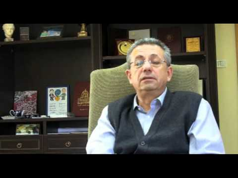 Interview with Mustafa Barghouti about the Peace Process, January 2011 - Part 1 [English|.flv