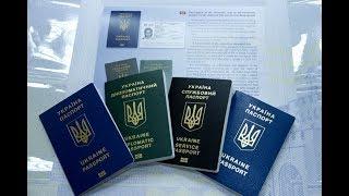 Биометрический загранпаспорт Украина