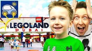 🎉 Летим в Леголенд Дубай за Лего Майнкрафт Железный Голем собираем чемоданы и Обогреватель Картонка