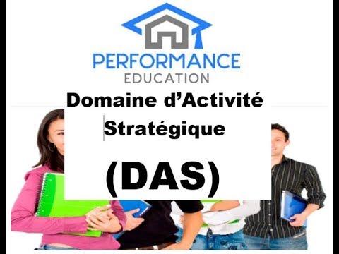 Qu Est Ce Qu Un Domaine D Activite Strategique Das Youtube