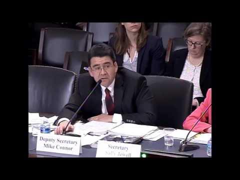 Rep. LaMalfa Questions Interior Department on Klamath River (Part 1)