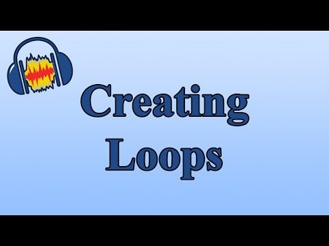 Creating Loops In Audacity