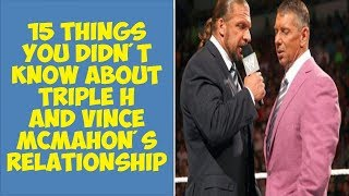 15 Things You Didn't Know About Triple H And Vince McMahon's Relationship