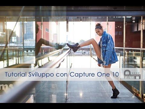 Tutorial post produzione ritratto street fashion - Capture One Pro 10