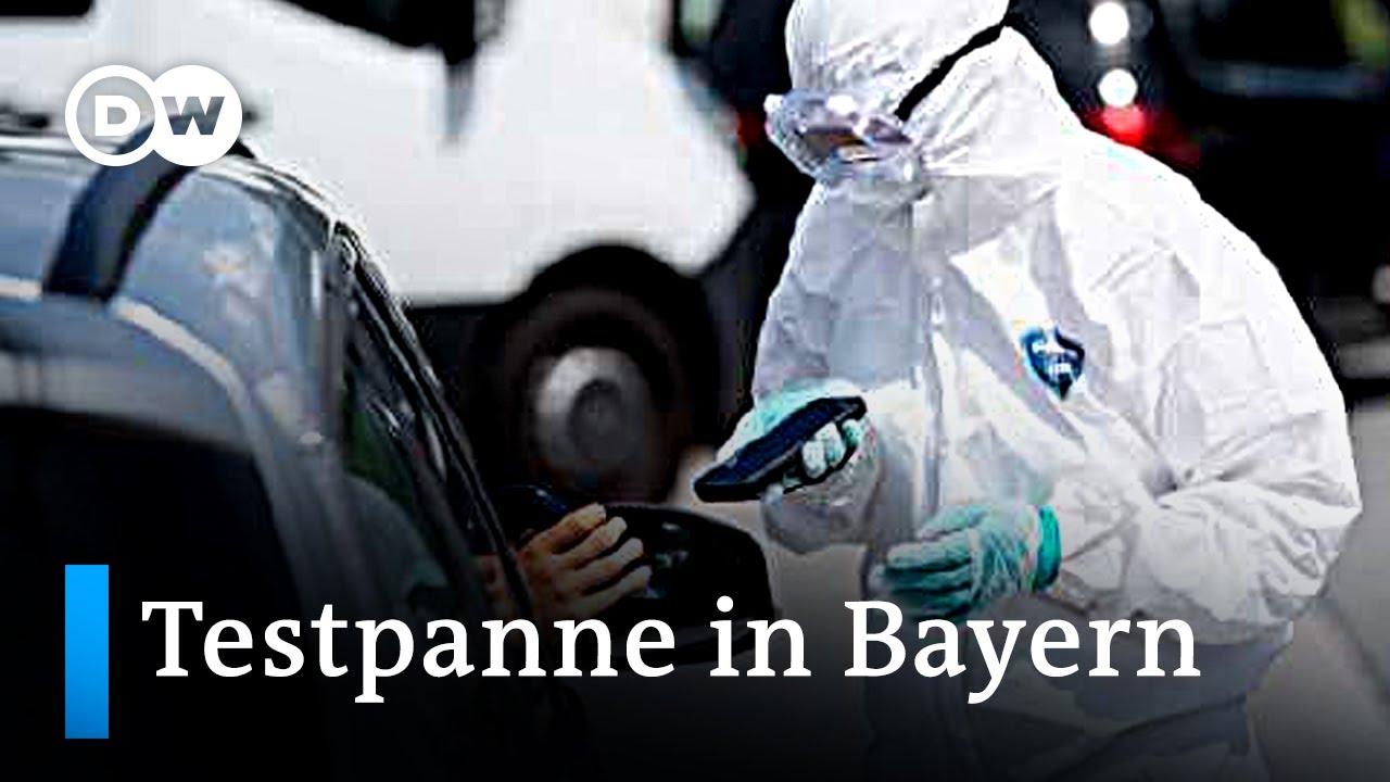 Corona-Update: Testpanne in Bayern & Wirksamkeit von Stoffmasken | DW Nachrichten