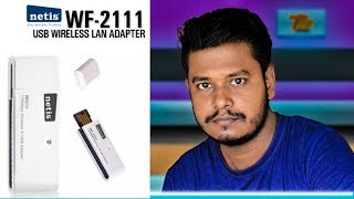 Netis WF2111 150Mbps Wireless N USB Adapter Unboxing+Review