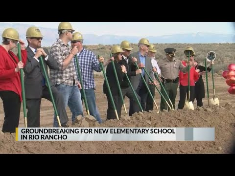 District officials break ground on new Rio Rancho elementary school
