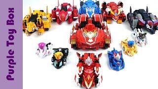 기가로이드 탄생! 몬카트 드라버스트 와 메가로이드 장난감 Cart Robot Combination Toys
