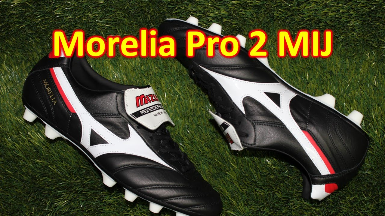 mizuno morelia 2 made in japan unboxing on feet 4k