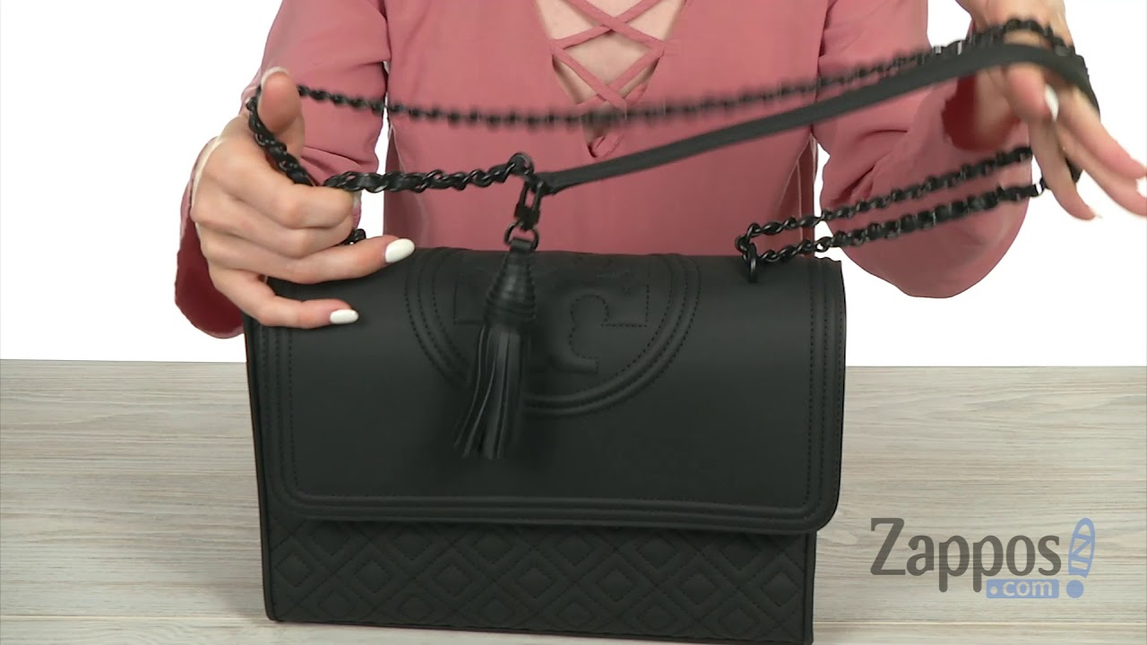 be803d60bd69f Tory Burch Fleming Matte Convertible Shoulder Bag SKU  9055582 - YouTube
