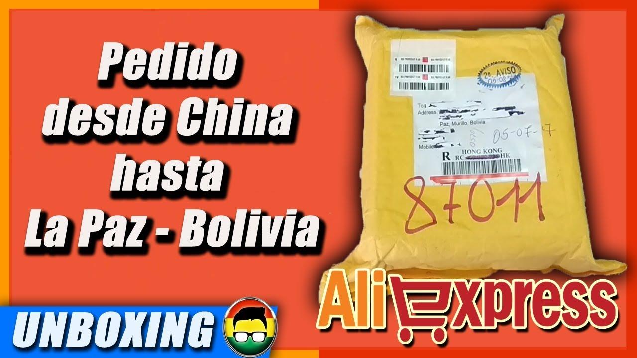 Unboxing Aliexpress La Paz - Bolivia