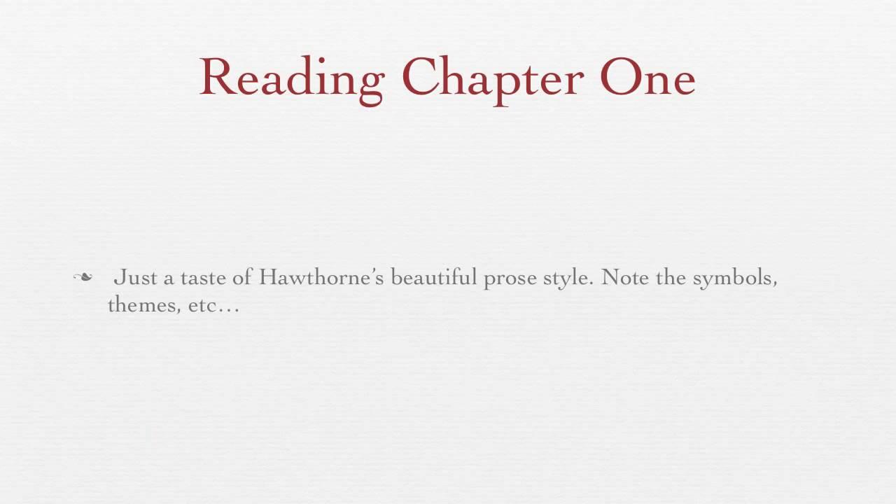 Hawthornes the scarlet letter youtube hawthornes the scarlet letter biocorpaavc