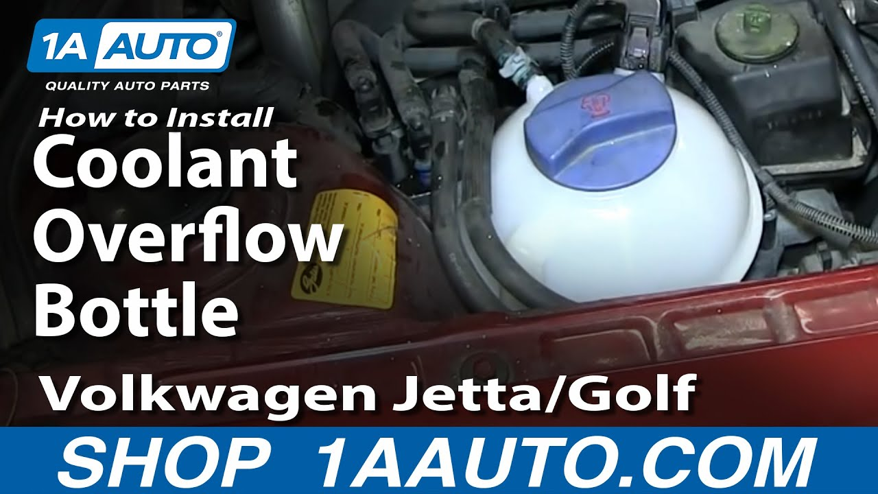 2006 Volkswagen Beetle Wiring Diagram How To Replace Radiator Coolant Overflow Bottle 99 05