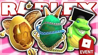 HOW TO GET FLIGHT OF THE BUMBLE EGG, SCALED EGGDUCATOR & ROLLER-EGGSTER! (Roblox EGG HUNT Event 2019