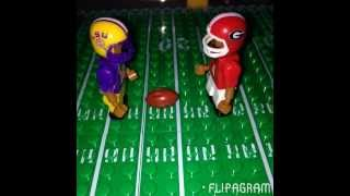 Video 1 LSU VS 2 GEORGIA LEGO FOOTBALL LEAGUE. download MP3, 3GP, MP4, WEBM, AVI, FLV Desember 2017
