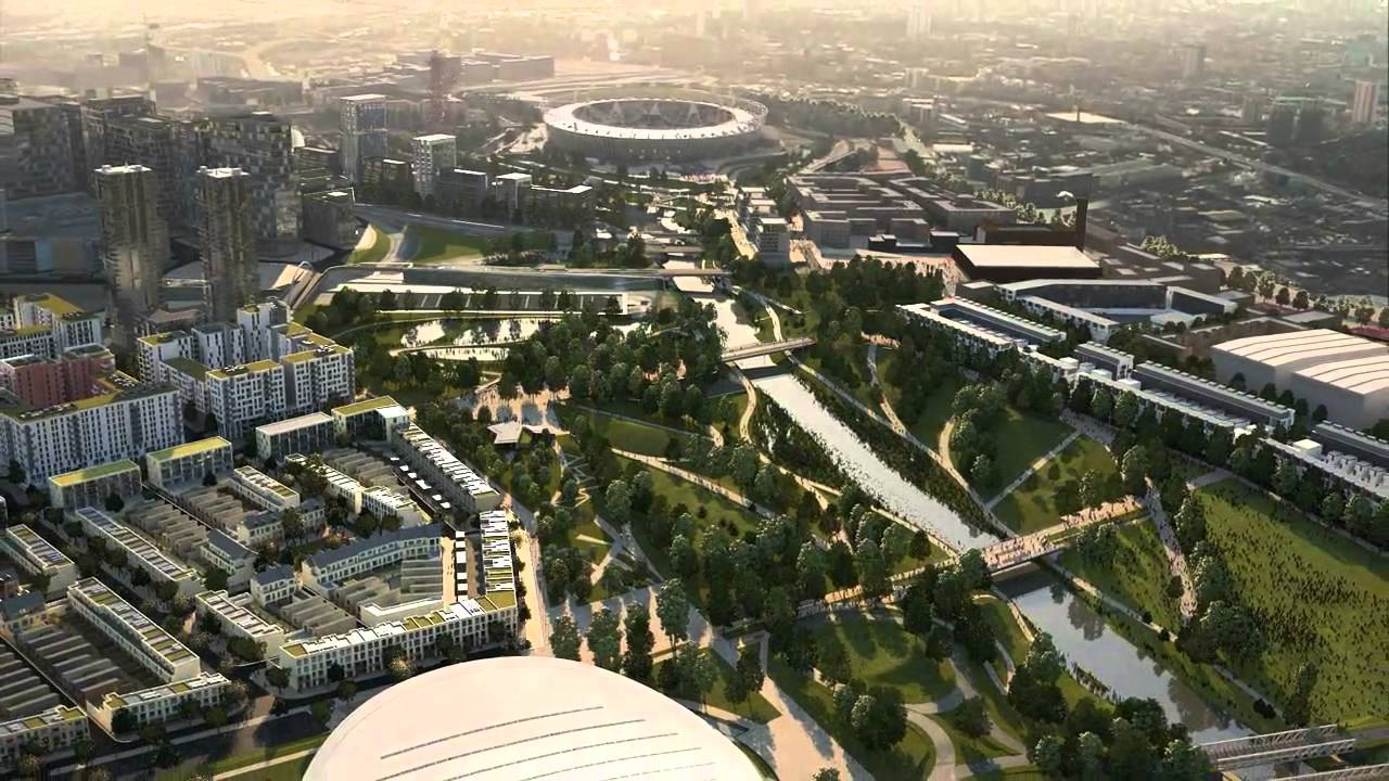 No ordinary park olympic park stratford city london for Domon olympic city