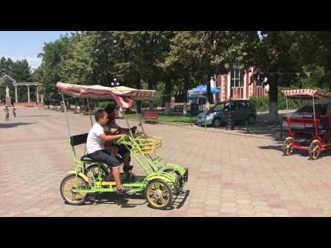 Walking Around Bishkek In Kyrgyzstan
