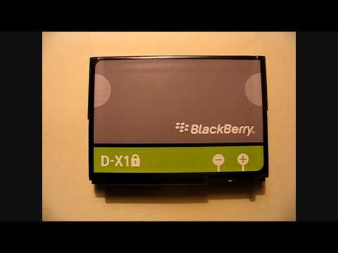 Battery Specs Blackberry Curve 8900