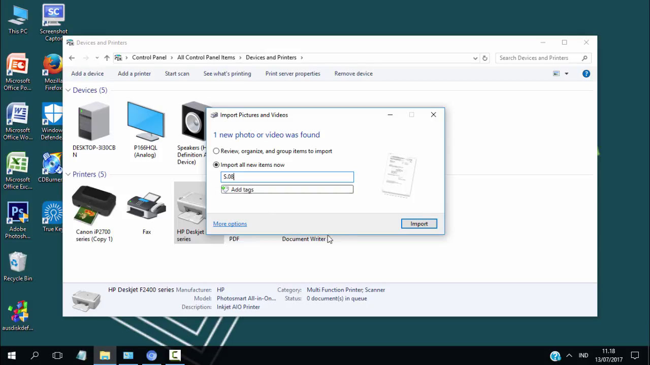 CARA MUDAH SCAN DOKUMEN DI WINDOWS 10 - YouTube