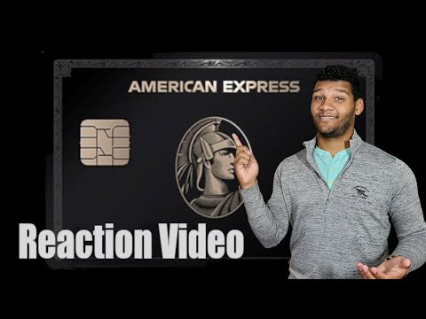 The American Express Black Card || Reaction & Review